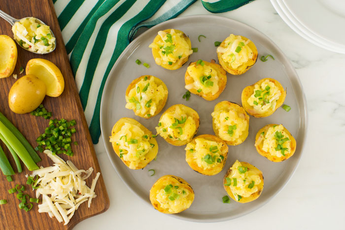 Loaded Potato Poppers