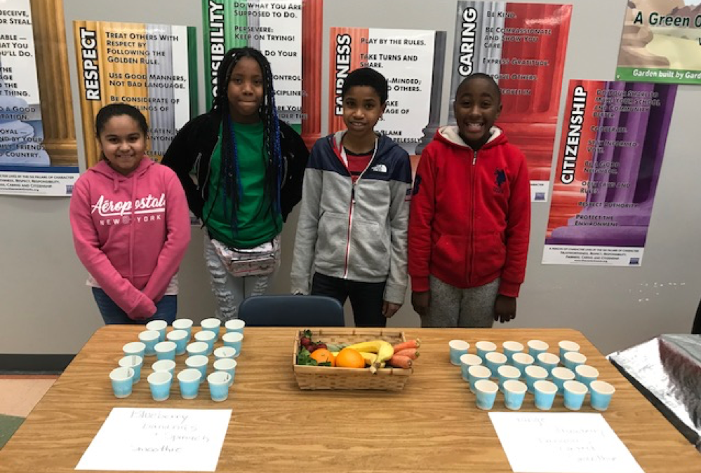 Success Story: Fruit and Veggie Samples