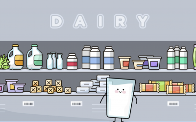Milk's Journey From Farm to Table