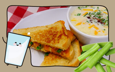 Green Bean Casserole Melt & Loaded Baked Potato Soup