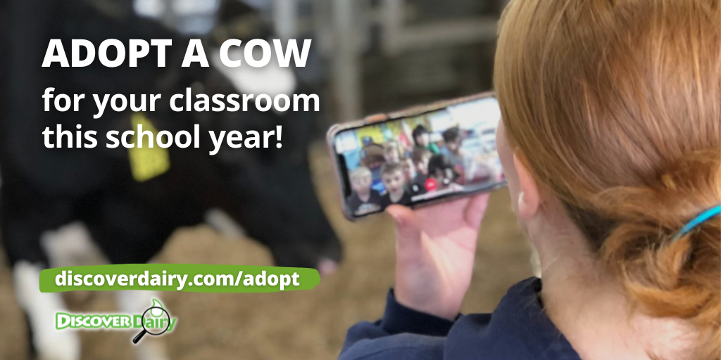 Join the Moo-vement. Adopt a Cow!